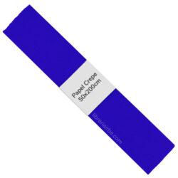 Rollo de Papel Crepé (50 x 200 cm) Azul Oscuro