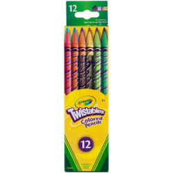 Set 12 Lápices de Color Crayola Twistables