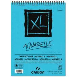 Bloc de Papel para Acuarela CANSON XL® Aquarelle con 30 Hojas de 300 g Tamaño A3