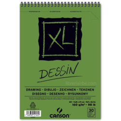 Bloc de Papel para Dibujo CANSON XL® Dessin con 30 Hojas de 160 g Tamaño A5