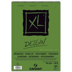 Bloc de Papel para Dibujo CANSON XL® Dessin con 50 Hojas de 160 g Tamaño A3