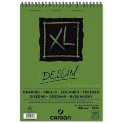 Bloc de Papel para Dibujo CANSON XL® Dessin con 50 Hojas de 160 g Tamaño A4