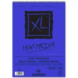 Bloc de Papel para Técnicas Mixtas CANSON XL® Mix-Media con 30 Hojas de 300 g Tamaño A3