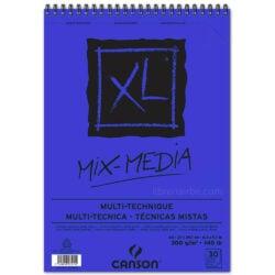 Bloc de Papel para Técnicas Mixtas CANSON XL® Mix-Media con 30 Hojas de 300 g Tamaño A4