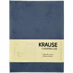 Cuaderno Anillado con Hojas Punteadas KRAUSE Tamaño A5 Azul