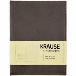 Cuaderno Anillado con Hojas Punteadas KRAUSE Tamaño A5 Marron