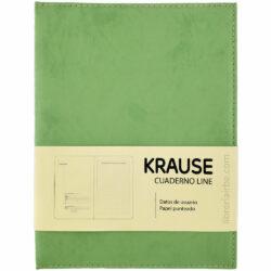 Cuaderno Anillado con Hojas Punteadas KRAUSE Tamaño A5 Verde
