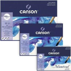Papel para Acuarela CANSON Montval® Tamaños