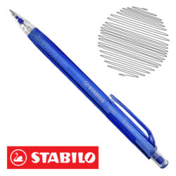 Portaminas 0.5 mm STABILO 3555 Azul