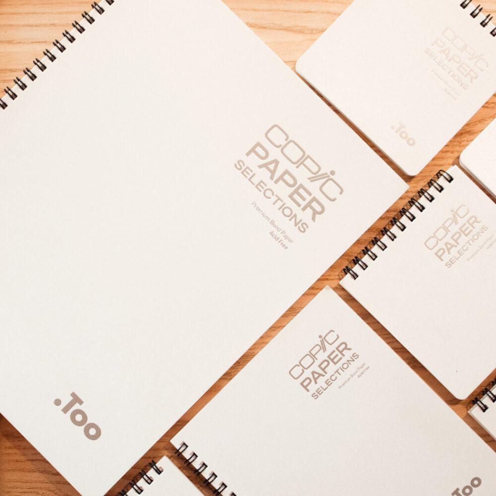 Blocs de Papel Premium para Marcadores COPIC Paper Selections Vista