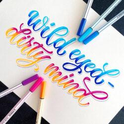 Marcadores STABILO Pen 68 Brush Lettering Wild