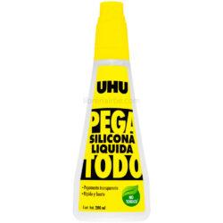 Pegamento Silicona Líquida UHU Pega Todo 200 ml