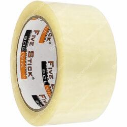 Rollo Cinta Adhesiva de Embalaje Five Stick 2- (48 mm) 100 Yardas Transparente