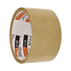 Rollo Cinta Adhesiva de Embalaje Five Stick 2- (48 mm) 20 Yardas Café