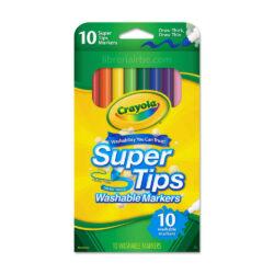 Set 10 Marcadores Crayola Super Tips