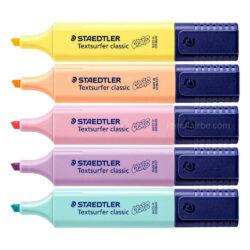 Set 10 Resaltadores STAEDTLER Textsurfer Classic - Pastel & Vintage Vista 1