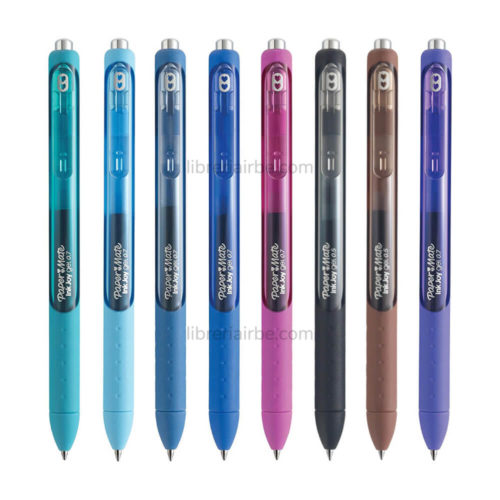 Set 16 Bolígrafos Retráctiles Paper Mate Inkjoy Gel Colores 2