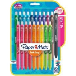 Set 20 Bolígrafos Retráctiles Paper Mate Inkjoy Gel