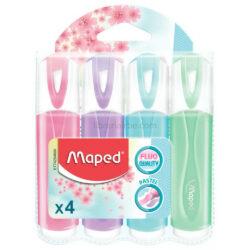 Set 4 Resaltadores Maped Fluo Pastel