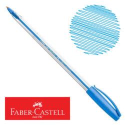 Bolígrafo Faber-Castell Trilux 032 Medium Celeste Nuevo
