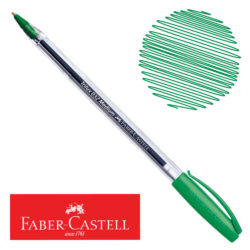Bolígrafo Faber-Castell Trilux 032 Medium Verde Nuevo