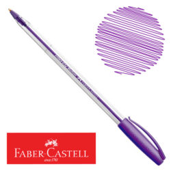 Bolígrafo Faber-Castell Trilux 032 Medium Violeta Nuevo