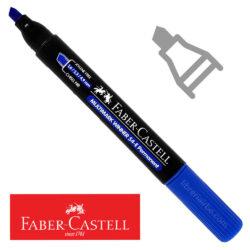 Marcador Permanente Punta Biselada Faber-Castell Multimark Winner 54-E Azul Nuevo
