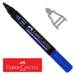 Marcador Permanente Punta Redonda Faber-Castell Multimark Winner 52-E Azul Nuevo