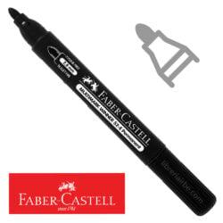 Marcador Permanente Punta Redonda Faber-Castell Multimark Winner 52-E Negro Nuevo