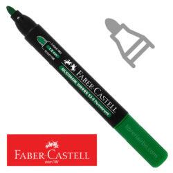 Marcador Permanente Punta Redonda Faber-Castell Multimark Winner 52-E Verde Nuevo