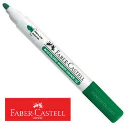 Marcador de Agua para Pizarra Blanca Faber-Castell Winner 152 Verde