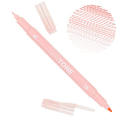 Rotulador Acuarelable Doble Punta Tombow Twintone - Coral Pink 78