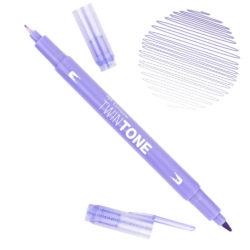 Rotulador Acuarelable Doble Punta Tombow Twintone - Pale Purple 21
