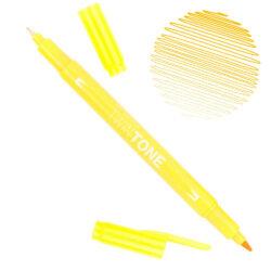 Rotulador Acuarelable Doble Punta Tombow Twintone - Yellow 03