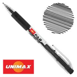Bolígrafo Retráctil UNIMAX FAB 0.5 Negro