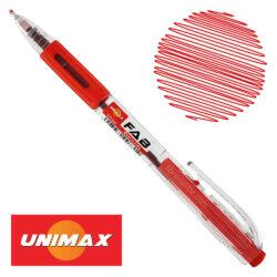 Bolígrafo Retráctil UNIMAX FAB 0.5 Rojo