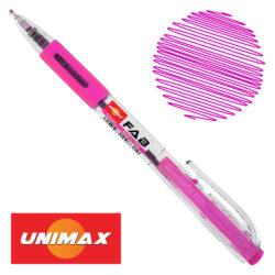 Bolígrafo Retráctil UNIMAX FAB 0.5 Rosa