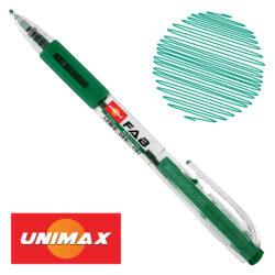 Bolígrafo Retráctil UNIMAX FAB 0.5 Verde