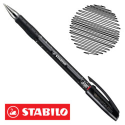 Bolígrafo STABILO Exam Grade 588 Negro