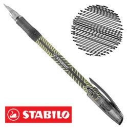 Bolígrafo STABILO Exam Grade X-Fine 587 Negro