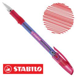 Bolígrafo STABILO Exam Grade X-Fine 587 Rojo