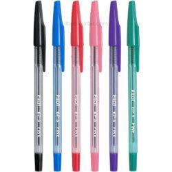 Bolígrafos PILOT BP-S Fine 0.7 por Unidad (6 Colores)