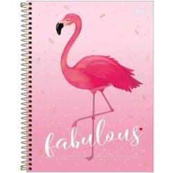 Cuaderno Anillado Carta Tilibra Aloha con 80 Hojas Cuadriculadas -Fabulous-