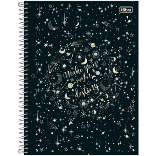 """Cuaderno Anillado Carta Tilibra Magic con 80 Hojas Cuadriculadas """"Make your only destiny"""""""