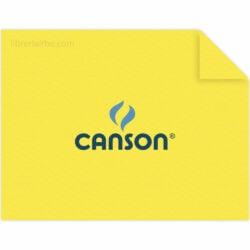 Pliego Cartulina CANSON Colorline (50 x 65 cm) Amarillo Canario