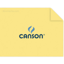Pliego Cartulina CANSON Colorline (50 x 65 cm) Amarillo Limón