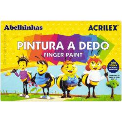 Set 6 Pintura a Dedo Acrilex