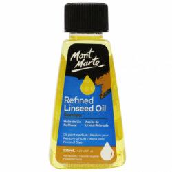 Aceite de Linaza Refinado Mont Marte Premium 125 ml