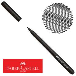 Marcador Delgado Fiesta 45 Faber-Castell Negro