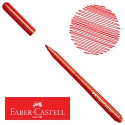 Marcador Delgado Fiesta 45 Faber-Castell Rojo